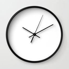 Eat Sleep Tabata Repeat Wall Clock
