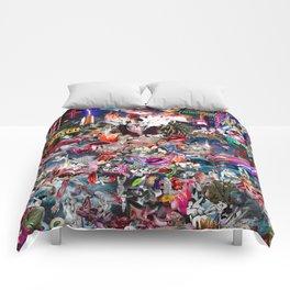 Pink Submarine Comforters