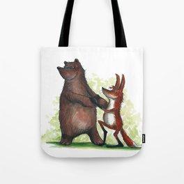 Bear & Fox Tote Bag