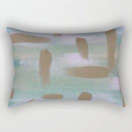 Brush Strokes in The Sky Rectangular Pillow