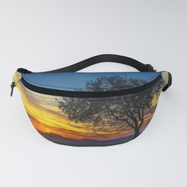 Vibrant Sunset Fanny Pack