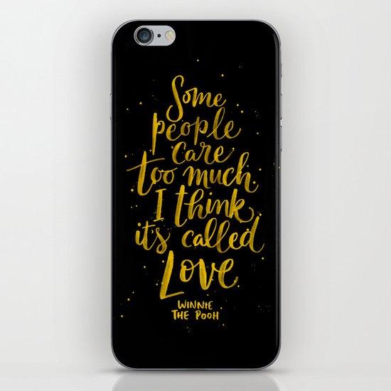 It's Called Love  iPhone & iPod Skin