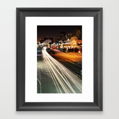 Pike Nights.... You and Me. Framed Art Print