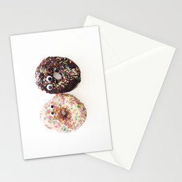 Donut Conversation Food Photography Stationery Cards