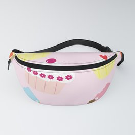 Cupcakes Fanny Pack