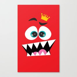 face the king... Canvas Print