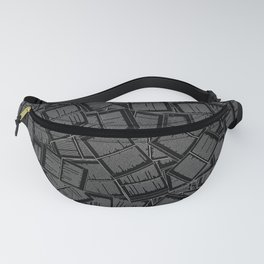 Literary Overload II Fanny Pack