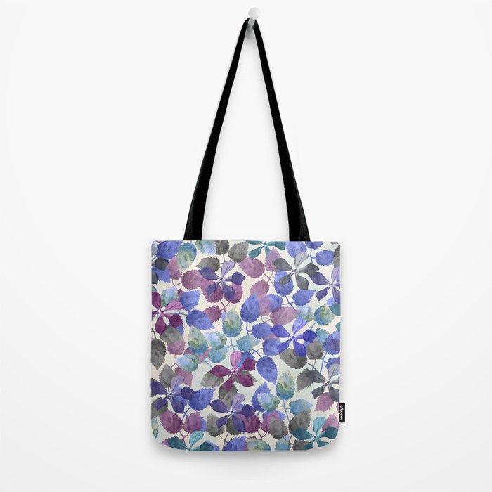 watercolor Botanical garden II Tote Bag