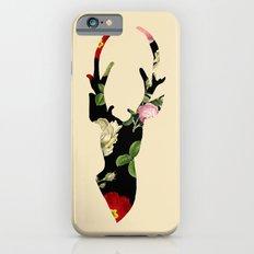 Flower Deer Silhouette Slim Case iPhone 6s