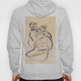 "Egon Schiele ""I Will Gladly Endure for Art and My Loved Ones"" Hoody"