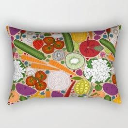 the good stuff tan Rectangular Pillow