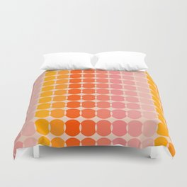 Strawberry Dots Duvet Cover