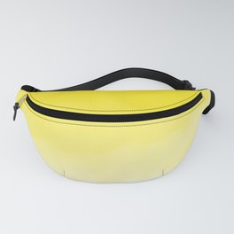 Yellow Watercolor Ombre Fanny Pack