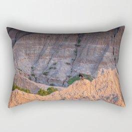 Wild Turkey in the Badlands Rectangular Pillow