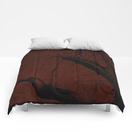 all red Comforters