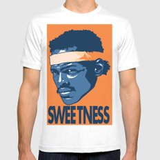 Sweetness X-LARGE White Mens Fitted Tee