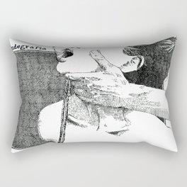 NUDEGRAFIA - 37 Rope Rectangular Pillow