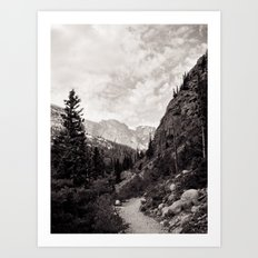 Following the Path Art Print