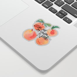 Call Me By Your Name - Peaches Sticker