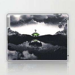 The Landing A Zebes Surrealism Laptop & iPad Skin