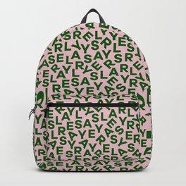 Slay - Green & Pink Backpack