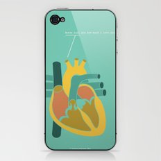 Aorta Tell You How Much I Love You iPhone & iPod Skin
