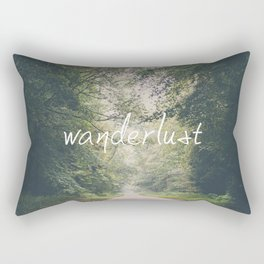 wanderlust ... Rectangular Pillow