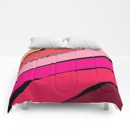 diagonal stripes Comforters