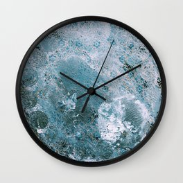 Full Wolf Moon Wall Clock