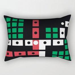La Famiglia Recordings - Joe Mesmar - Junction Rectangular Pillow