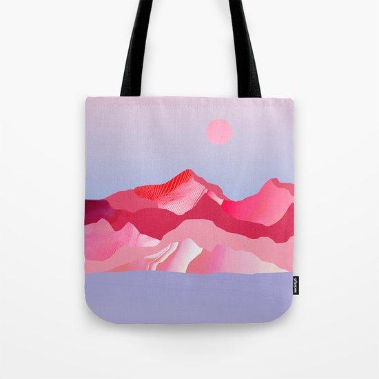 Pink Sun Blush Tote Bag