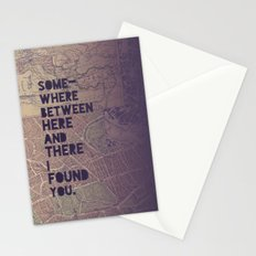 Here & There Stationery Cards