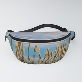 Fort Bragg's Ocean Cattails Fanny Pack