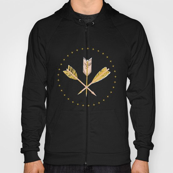 aztec arrows Hoody