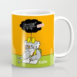Koalita at school Coffee Mug