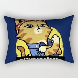 Purrsist! Rectangular Pillow