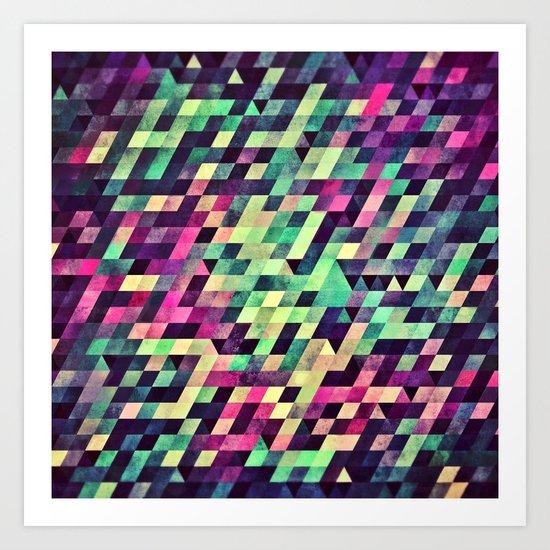 xquyzytt lyss Art Print