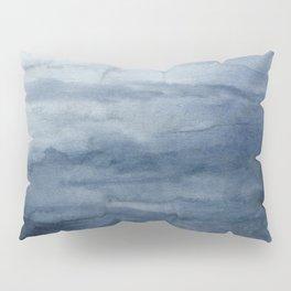 Indigo Abstract Painting   No.2 Pillow Sham