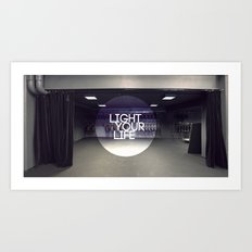 Light Your Life Art Print