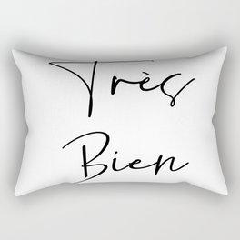 Tres Bien All Day Rectangular Pillow