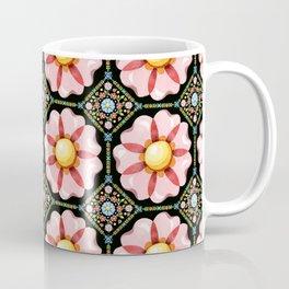 Pink Flower Boho Chic Coffee Mug