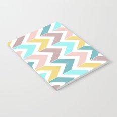 Pastel Chevron Notebook
