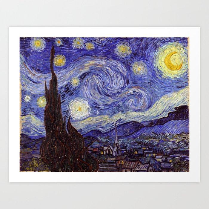 Vincent Van Gogh Starry Night Kunstdrucke