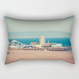 Santa Monica Beach Rectangular Pillow
