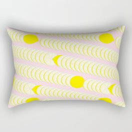 Lemon pattern. Rectangular Pillow