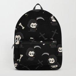 Cute Grim Reaper Pattern Backpack