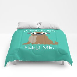 The Pugly Truth Comforters