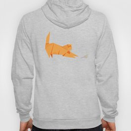 Origami Cat and Mouse Hoody