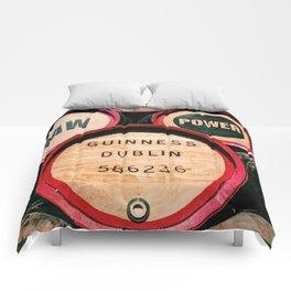 Guinness Barrels Comforters