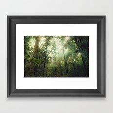 Penetration Framed Art Print